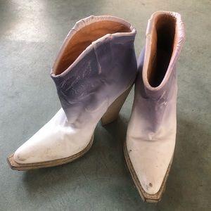 Maison Martin Margiela Cowboy Boots Size 37